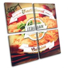 Italian Typography Food Kitchen - 13-6048(00B)-MP01-LO